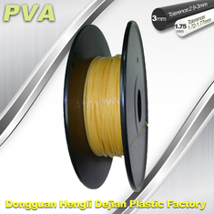 চীন Water Soluble Support Material PVA 3D Printing Filament 1.75 / 3.0 mm Natural সরবরাহকারী