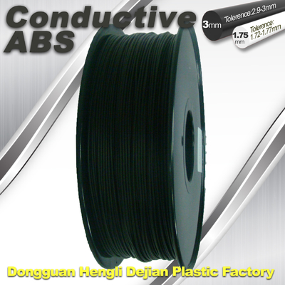 চীন Good elasticity universal ABS Conductive 3d Printer Filament in Black সরবরাহকারী