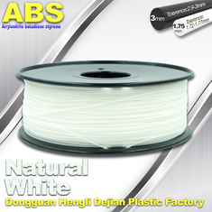 চীন Good eEasticity 3D Printing Materials Transparent ABS Filament For Cubify Printer সরবরাহকারী