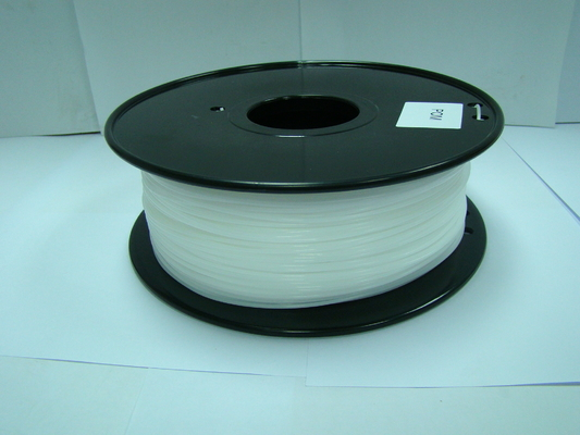 চীন POM Filament 1.75mm /3.0mm White 3D Printing Filament Materials 1kg / Spool সরবরাহকারী