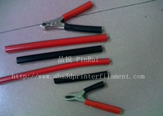 চীন Red / Black Plastic Flexible Hose For Alligator Clip , Wire Harnesses , Transformers সরবরাহকারী